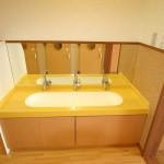 園児用洗面台(黄色)