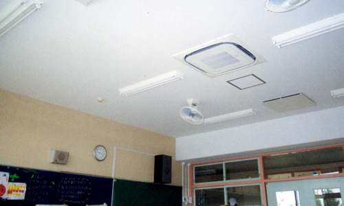 英幼稚園空調設備03改修後