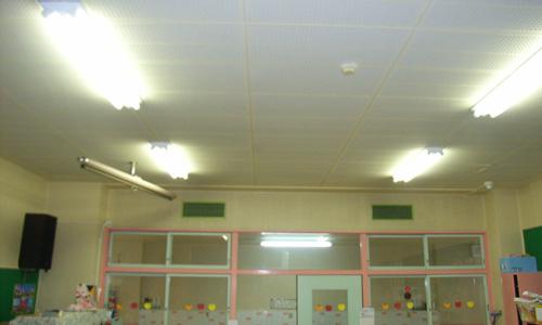 英幼稚園空調設備01改修前